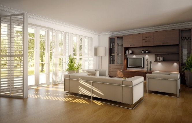 open living room 665x428 Classy Living Rooms